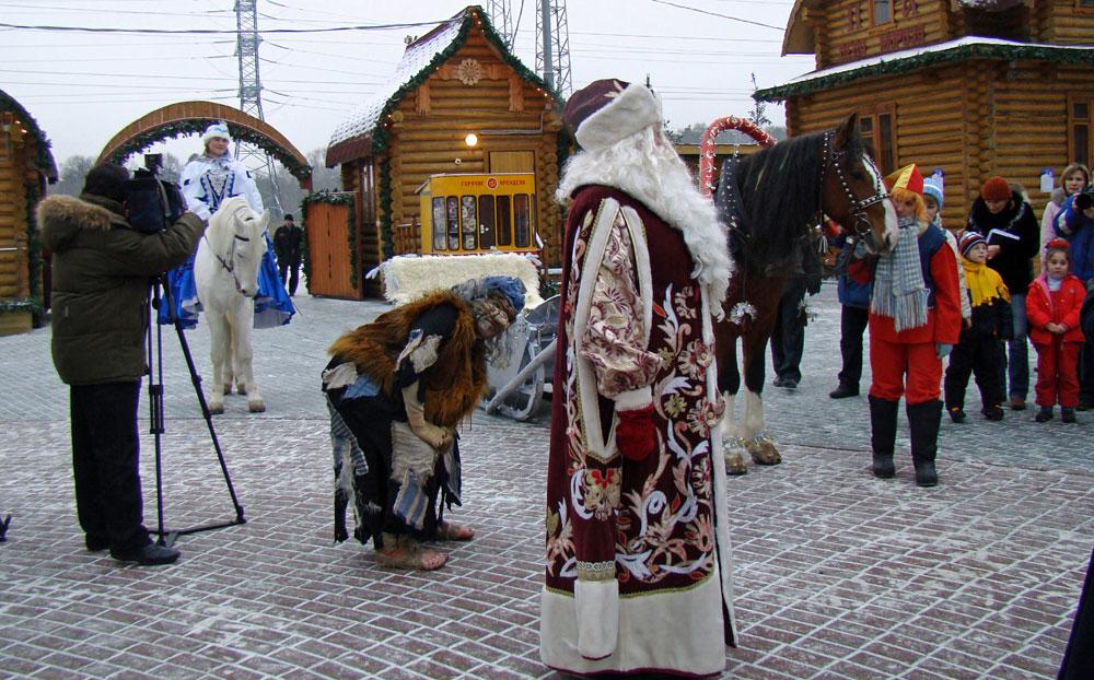 Картинки с ёлками в снегу